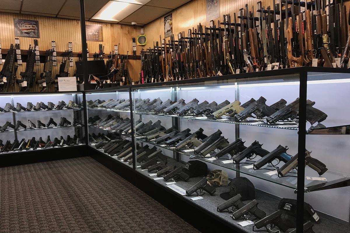 Guns at Target World