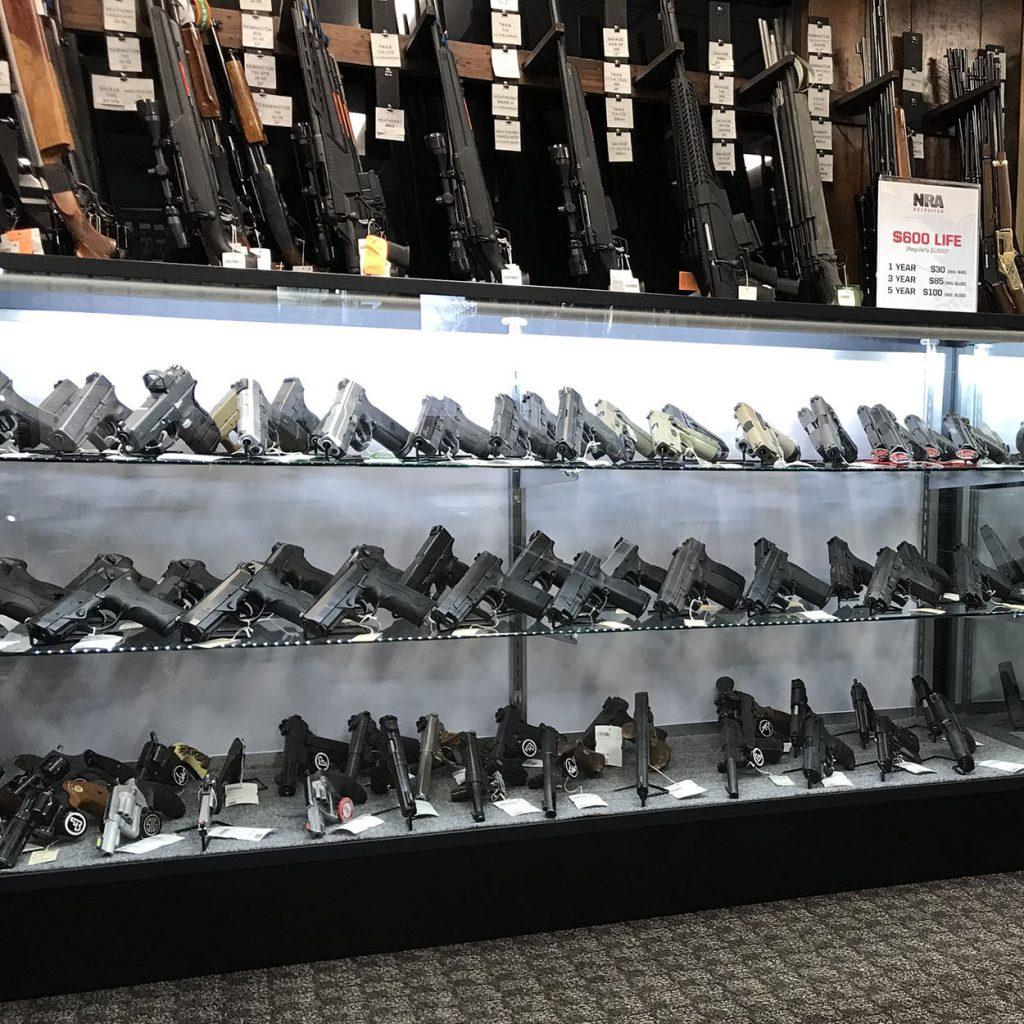 Hand Guns At Target World
