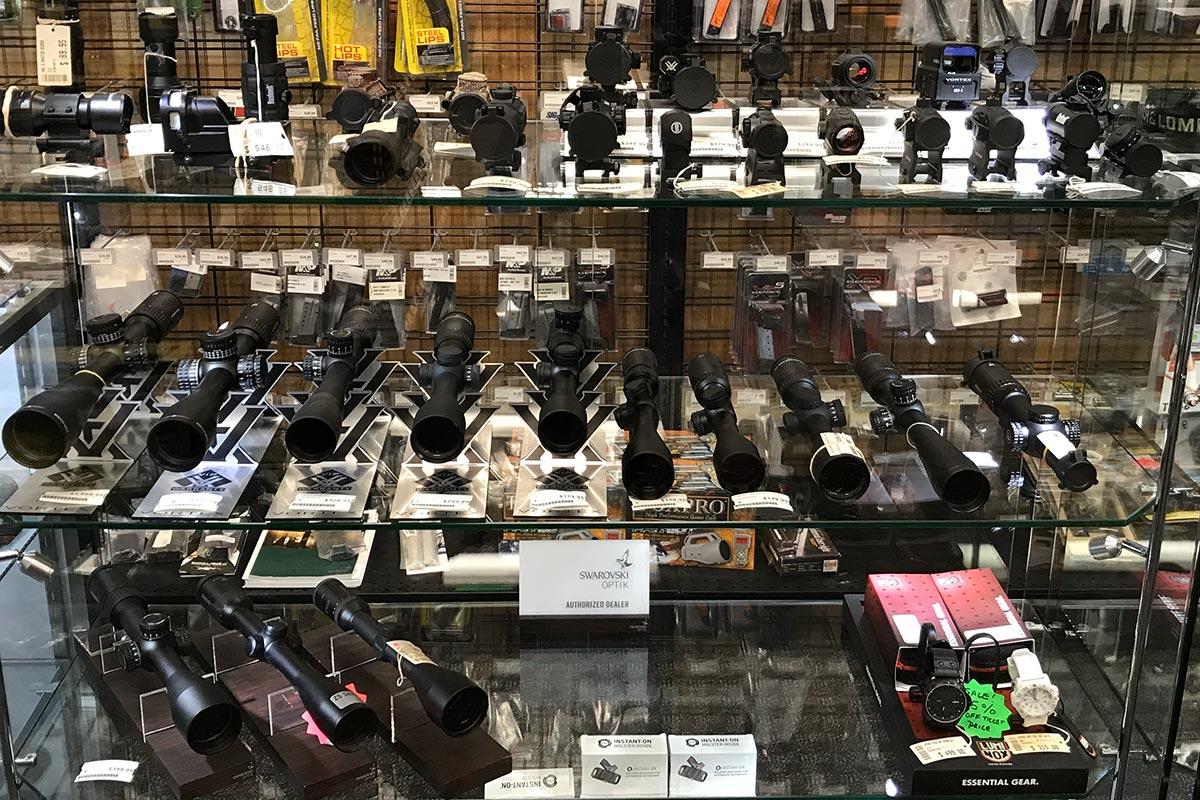 Gun sights at Target World