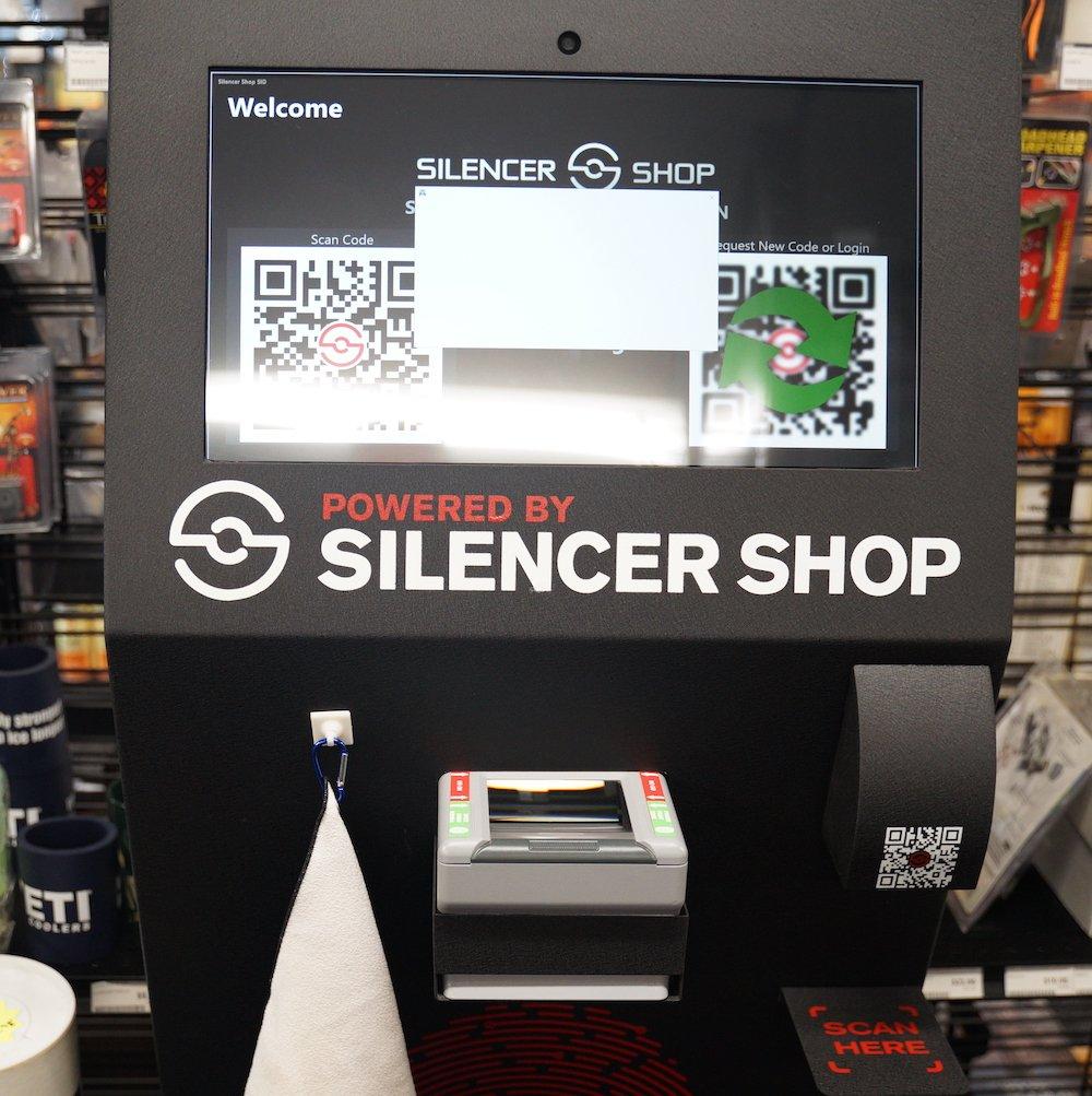 Silencer Shop kiosk at Target World