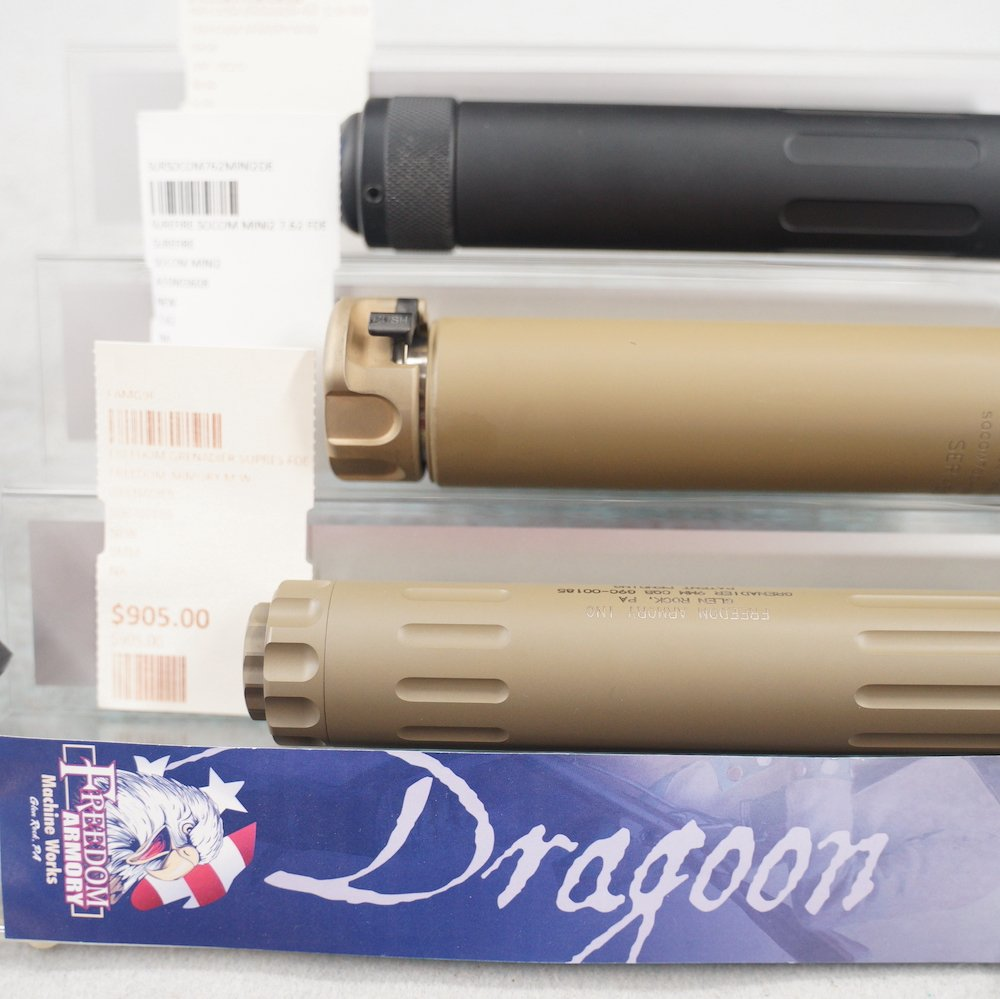 Dragoon silencers at Target World