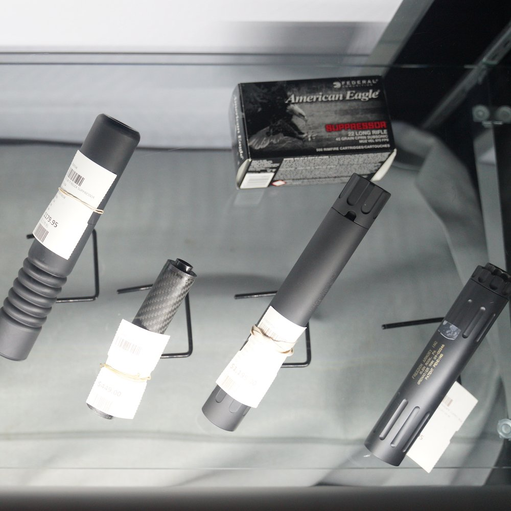 Suppressors and silencers at Target World