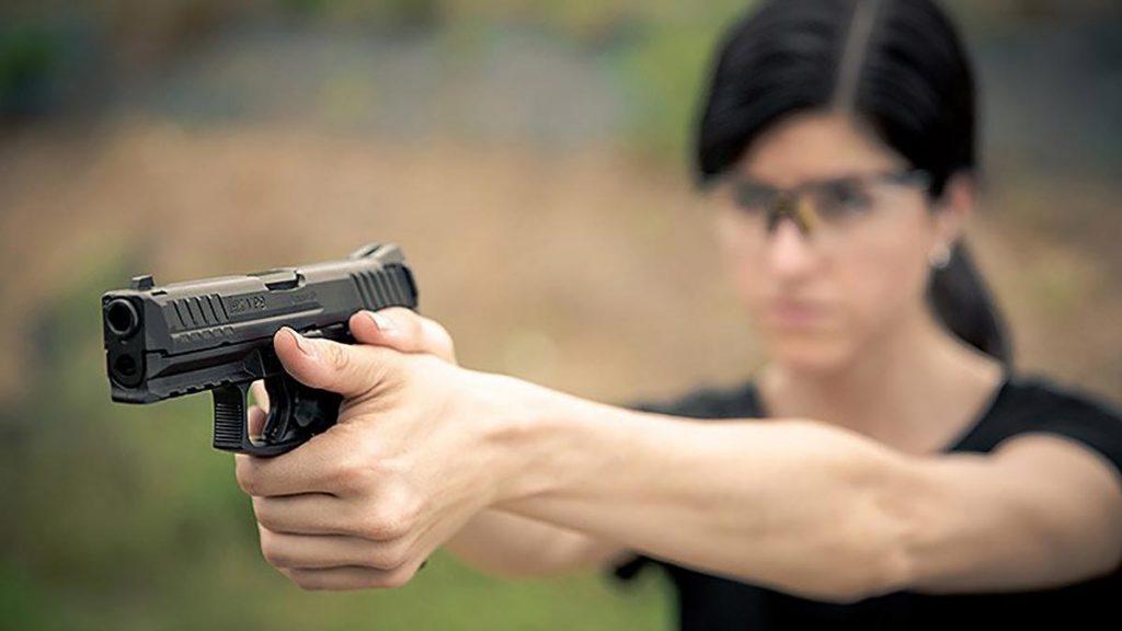 Women's Only Beginner Handgun class at Target World