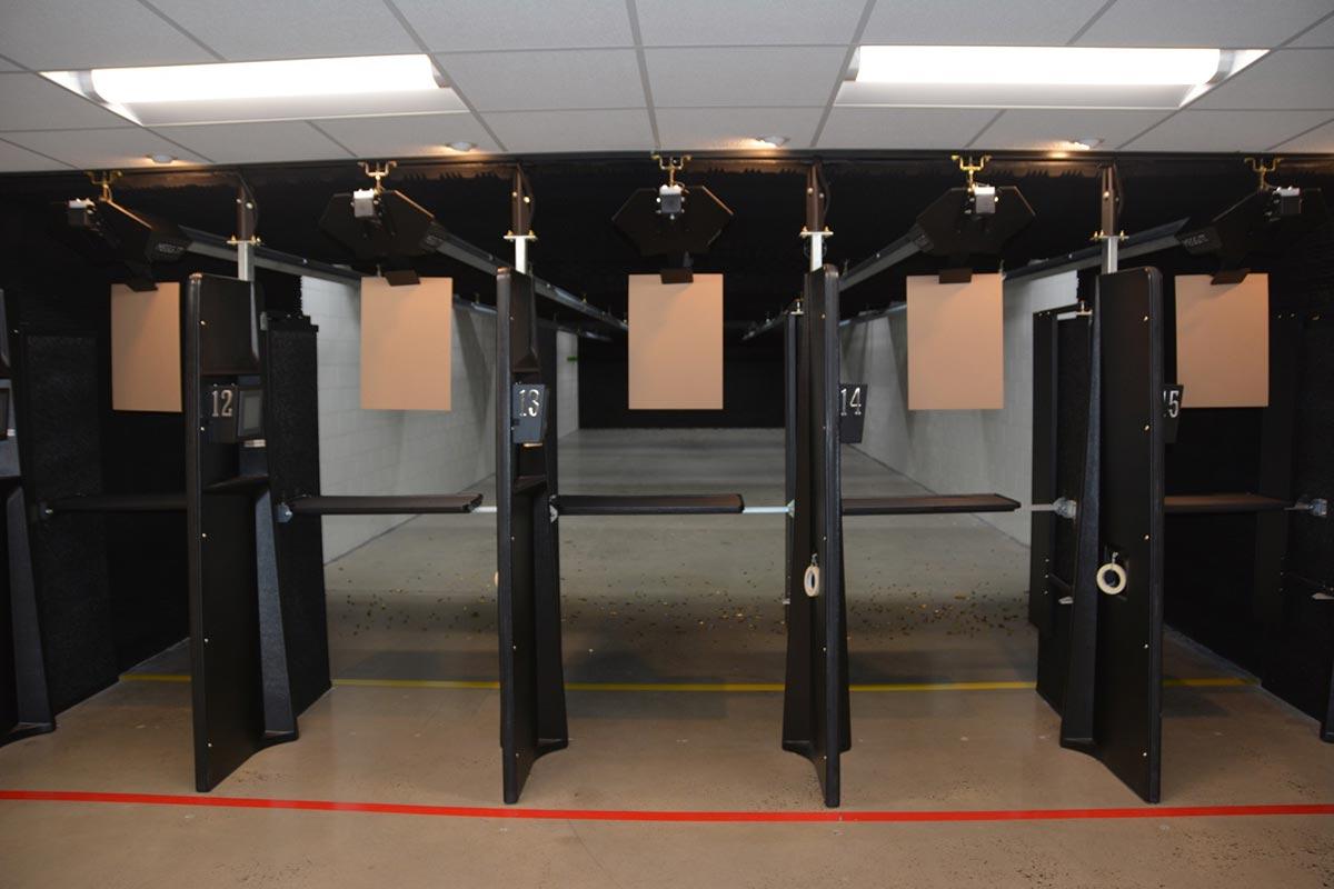 Shooting range at Target World